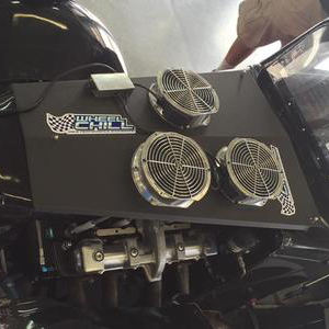 Legend Engine Cooler in use on Legend car